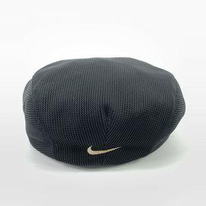 VTG 90's Nike Center Swoosh Flat Cap Newsboy Hat